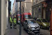 انفجار در شهر لیون فرانسه