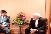 رایزنی وزیر خارجه ایران و وزیر خارجه عمان