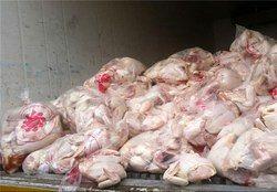 نوسانات نرخ مرغ در بازار در 21 مرداد 97