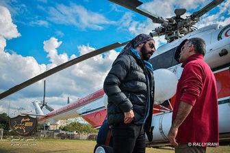 تازه ترین خبرها از «رالی ایرانی» بازیگران مشهور