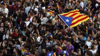 مخالفان جدایی کاتالونیا نگران خشونتهای اخیر هستند