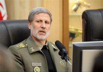 حضور وزیر پیشنهادی دفاع در نشست فراکسیون ولایی مجلس