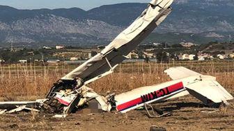 سقوط یک فروند هواپیمای آموزشی در آنکارا