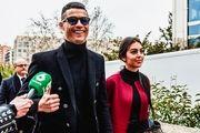 رونمایی نامزد رونالدو از حلقه ازدواجش با کریستیانو
