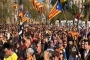 مسدود کردن خیابانهای کاتالونیا توسط معترضان