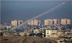 پاسخ موشکی مقاومت به حملات صهیونیستها