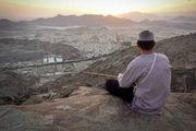تصاویری دیدنی از کوه ثور در مکه مکرمه