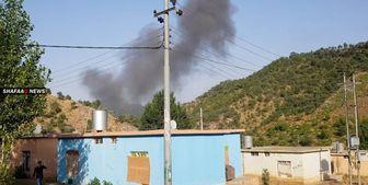 بمباران شدید عراق توسط ترکیه