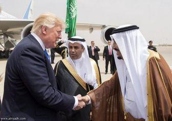 دلارهای سعودی، زبانِ ترامپ را باز کرد!