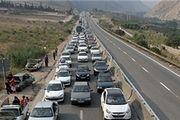 تعطیلات نیامده ترافیک در هراز سنگین شد