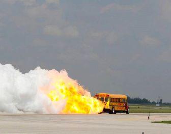 سریعترین سرویس مدرسه/ عکس