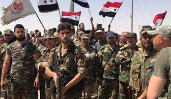 آزادسازی یک روستا در سوریه