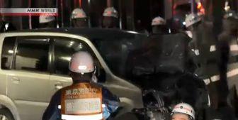 حمله با خودرو در توکیو ۸ زخمی بر جای گذاشت