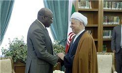 سفیر سنگال با هاشمی رفسنجانی دیدار و کفتگو کردند