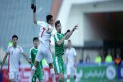 پیروزی تیم فوتبال امید ایران بر ترکمنستان