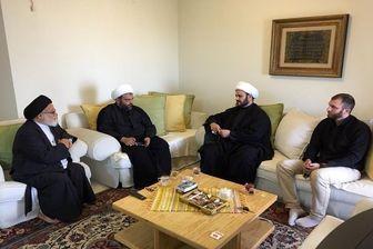 دیدار «شیخ اکرم الکعبی» با نماینده مقام معظم رهبری در لبنان