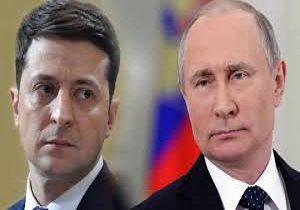 دیدار پوتین و رئیسجمهور اوکراین