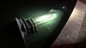 مجسمه کاشف آمریکا به آب انداخته شد+ عکس