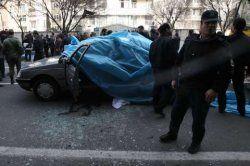 حضور بازپرس ویژه قتل تهران در محل انفجار