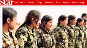 اعزام دختران سوری به خط مقدم جنگ