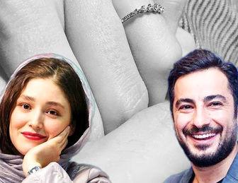 نوید محمدزاده در کنار پدر زنش+ عکس