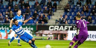 یمکت نشینی قوچان نژاد در لیگ فوتبال هلند