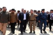 بازدید نخست وزیر عراق از محل انفجار انبار مهمات در جنوب بغداد