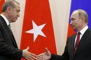 بررسی اوضاع سوریه در تماس تلفنی اردوغان و پوتین