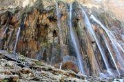 مرتفع ترین آبشار ایران/ عکس