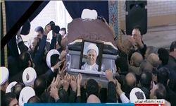 بازتاب مراسم تشییع پیکر یار دیرین امام در خبرگزاری فرانسه