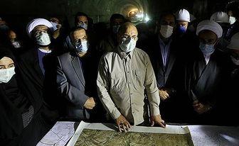 تاکید قالیباف بر تامین اعتبار مورد نیاز پروژه تونل کویرکوه در استان ایلام