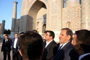 بازدید معاون اول رئیس جمهور از مراکز تاریخی باستانی شهر سمرقند