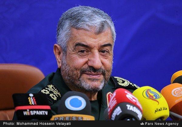 نشست خبری فرمانده کل سپاه پاسداران انقلاب اسلامی
