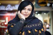 عکس کریسمسی خانم بازیگر زودتر از موعد