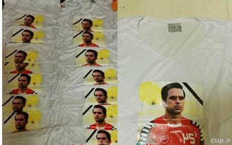 تصویر هادی روی پیراهن تیم ملی حک شد + عکس