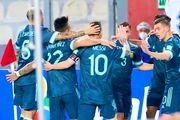 اظهارات مسی پس از پیروزی آرژانتین مقابل پرو