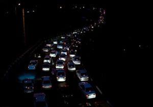 ترافیک نیمه سنگین در 3 جاده مازندران/جاده چالوس یکطرفه شد