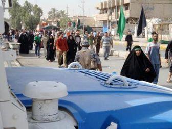 پیاده روی شیعیان عراق به سمت کاظمین