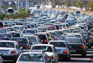 ترافیک صبحگاهی از غرب به شرق پایتخت